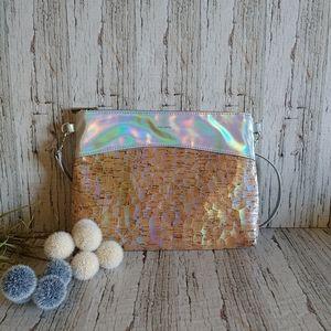 PIXIE MOOD   Iridescent Crossbody Bag